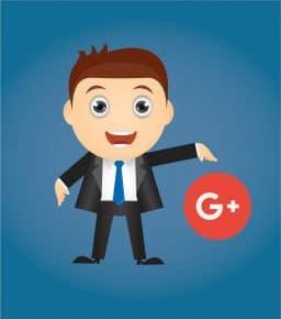 איש וסמל של גוגל