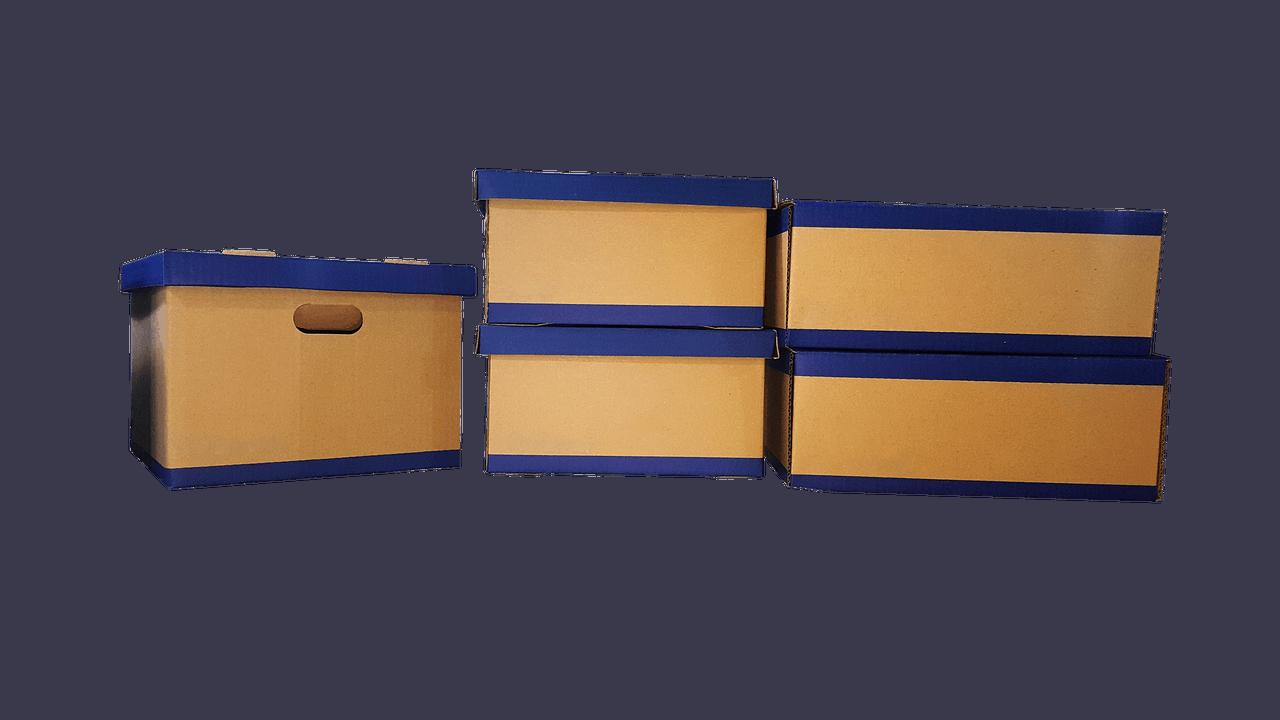 ארגזים מאוחסנים