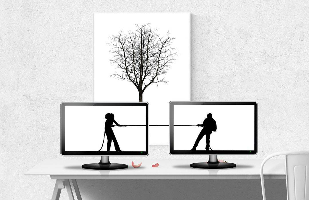 ריב בין בני זוג